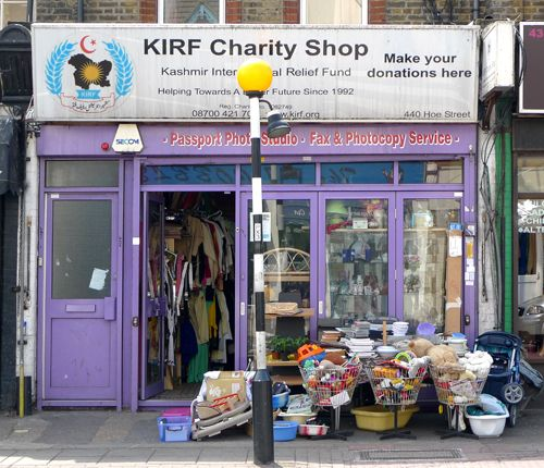 Living on a Shoestring: Charity Shop Shopping